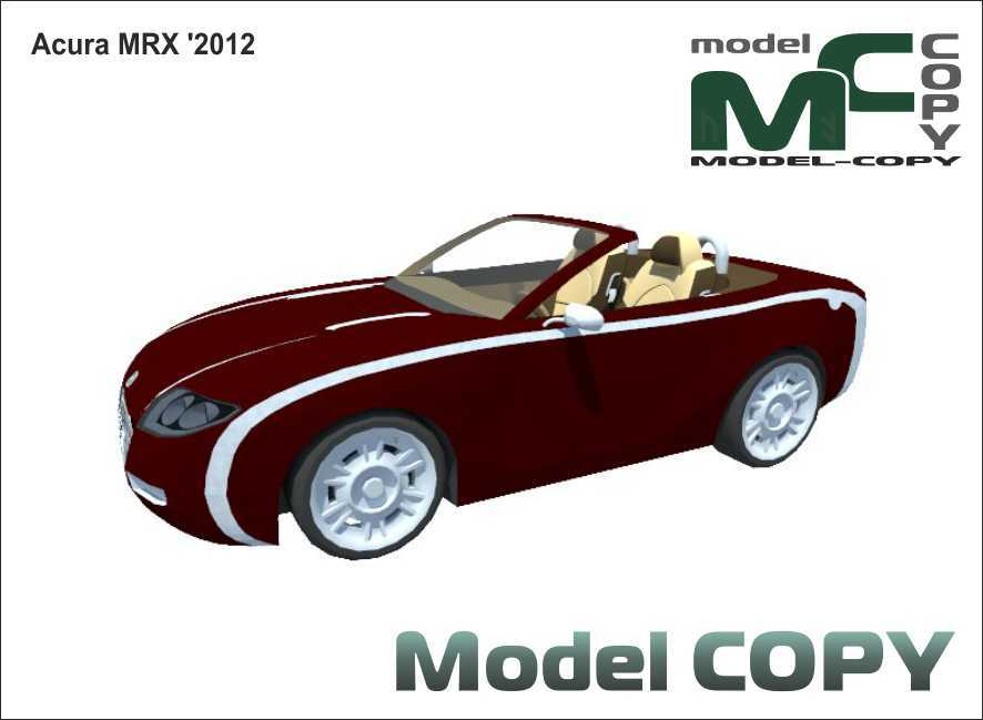 Acura MRX '2012 - 3D Model