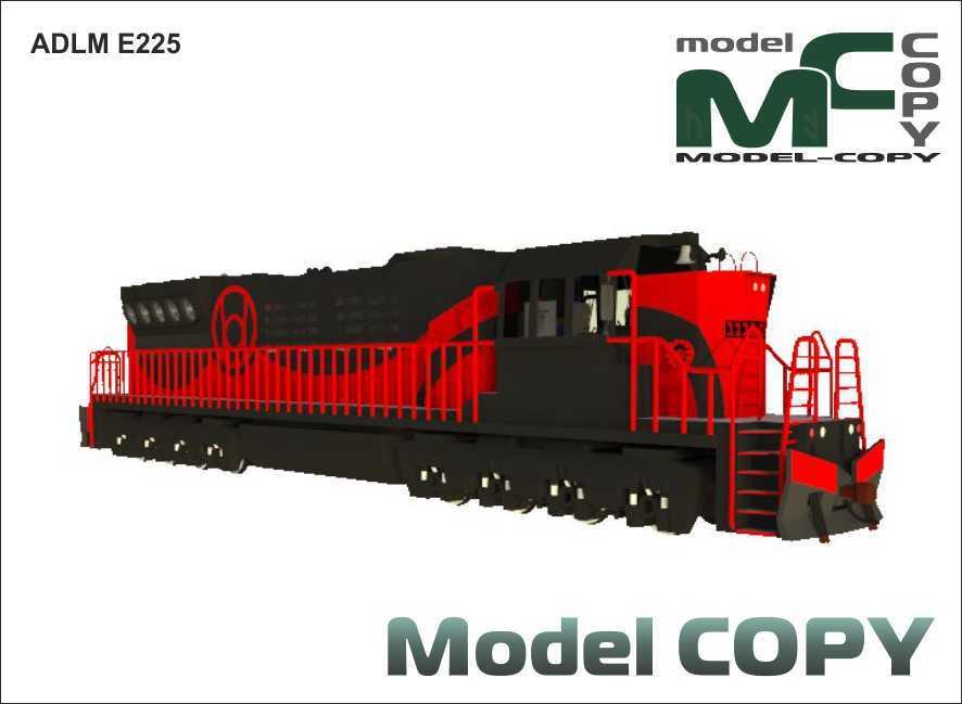 ADLM E225 - 3D Model