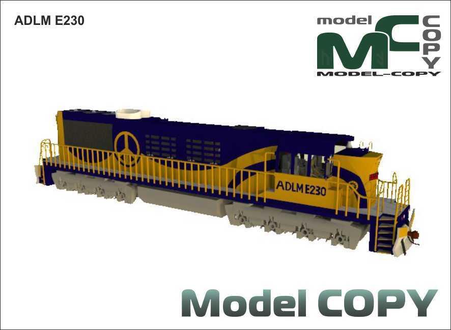 ADLM E230 - 3D Model