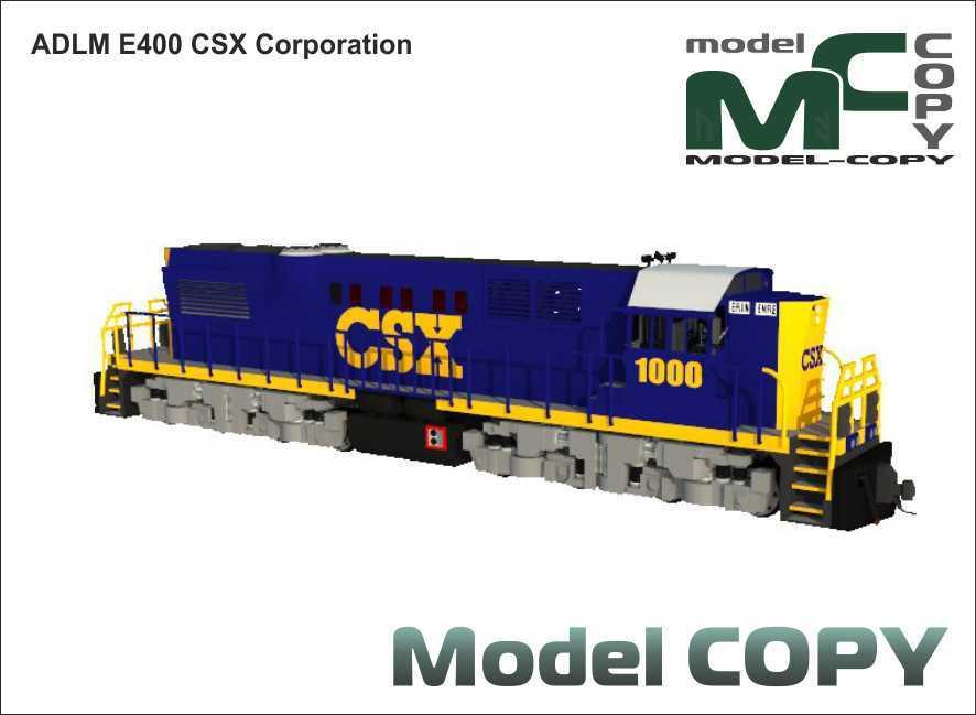 ADLM E400 CSX Corporation - 3D Model