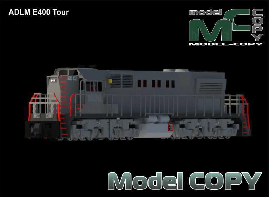 ADLM E400 Tour - 3D Model