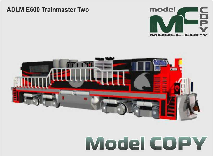 ADLM E600 Trainmaster Two - 3D Model