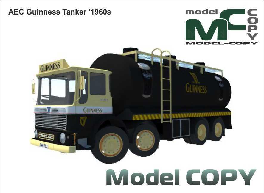 AEC Guinness Tanker '1960s - 3D Model