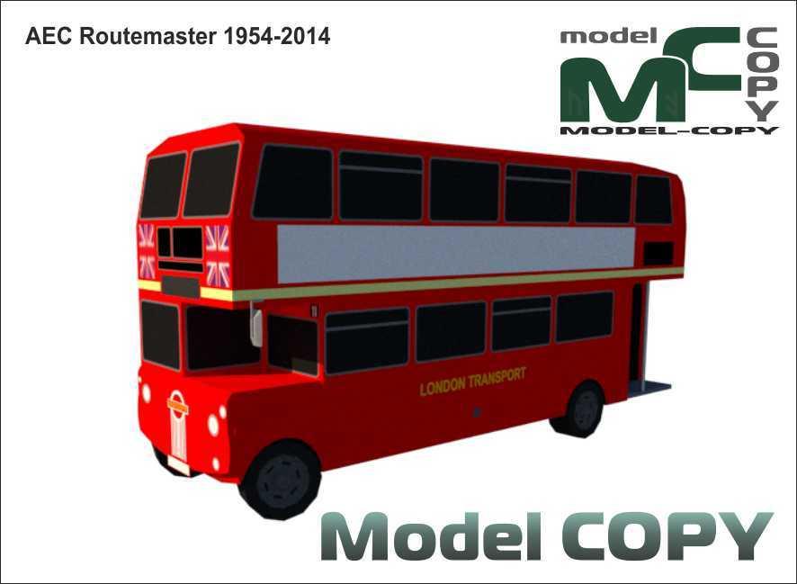 AEC Routemaster '1954-2014 - 3D Model