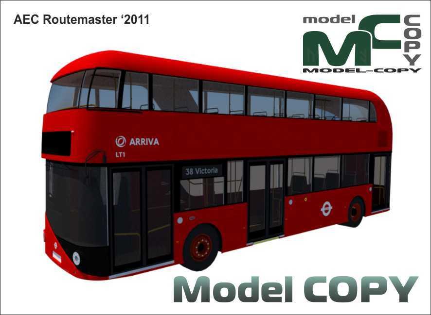 AEC Routemaster '2011 - 3D Model