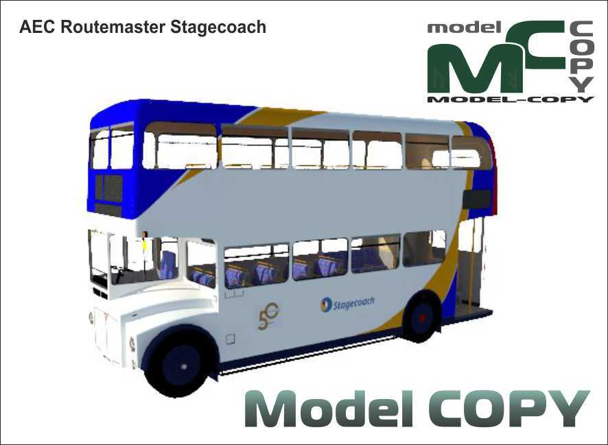 AEC Routemaster Stagecoach - 3D Model