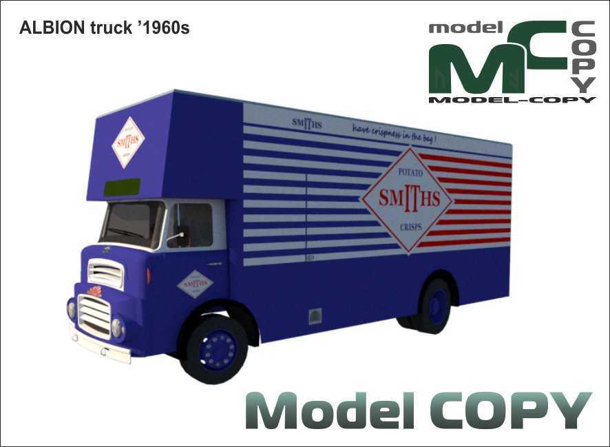 ALBION truck '1960s - 3D Model