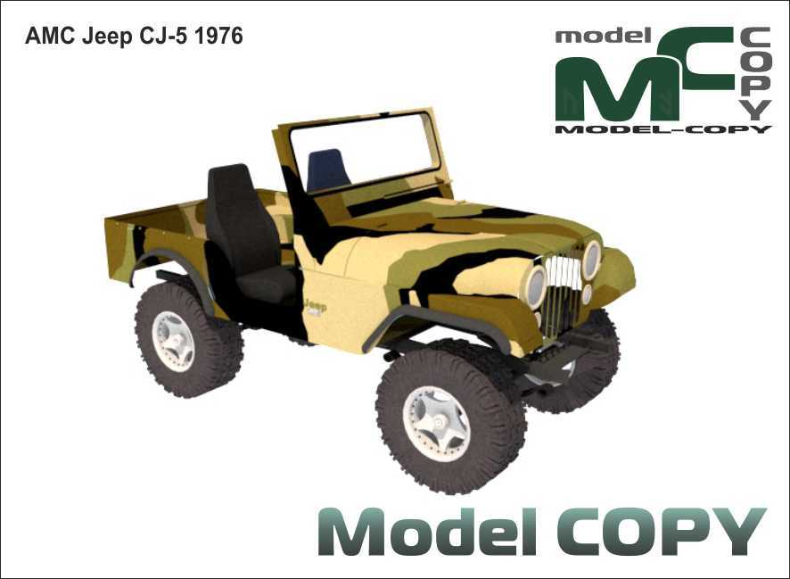 AMC Jeep CJ-5 '1976 - 3D Model