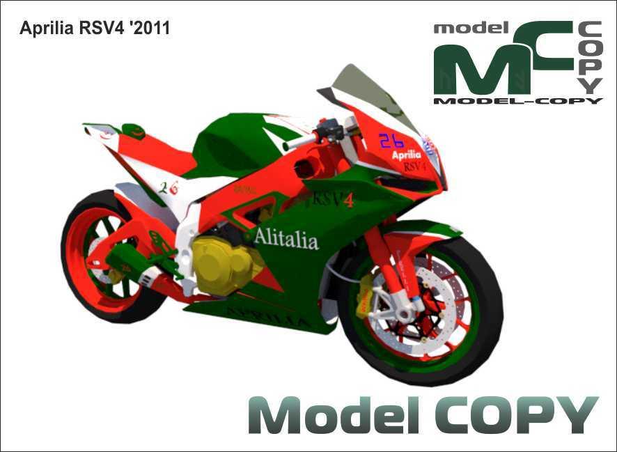 Aprilia RSV4 '2011 - 3D Model