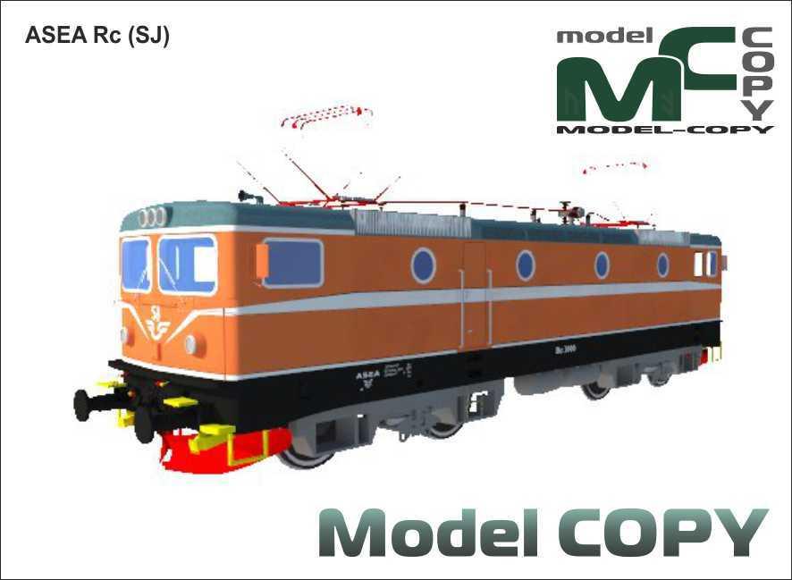 ASEA Rc (SJ) - Model 3D