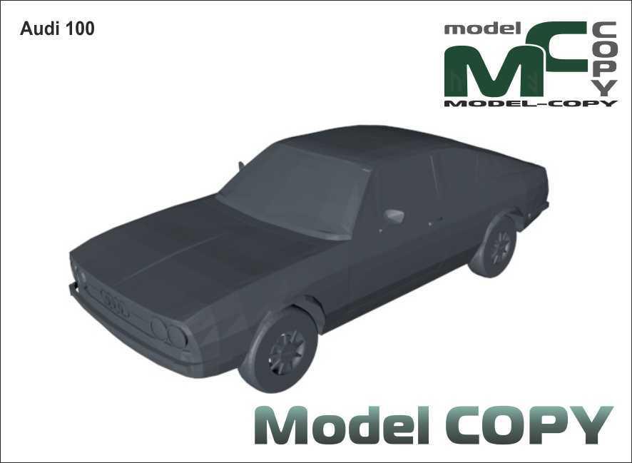Audi 100 - 3D Model