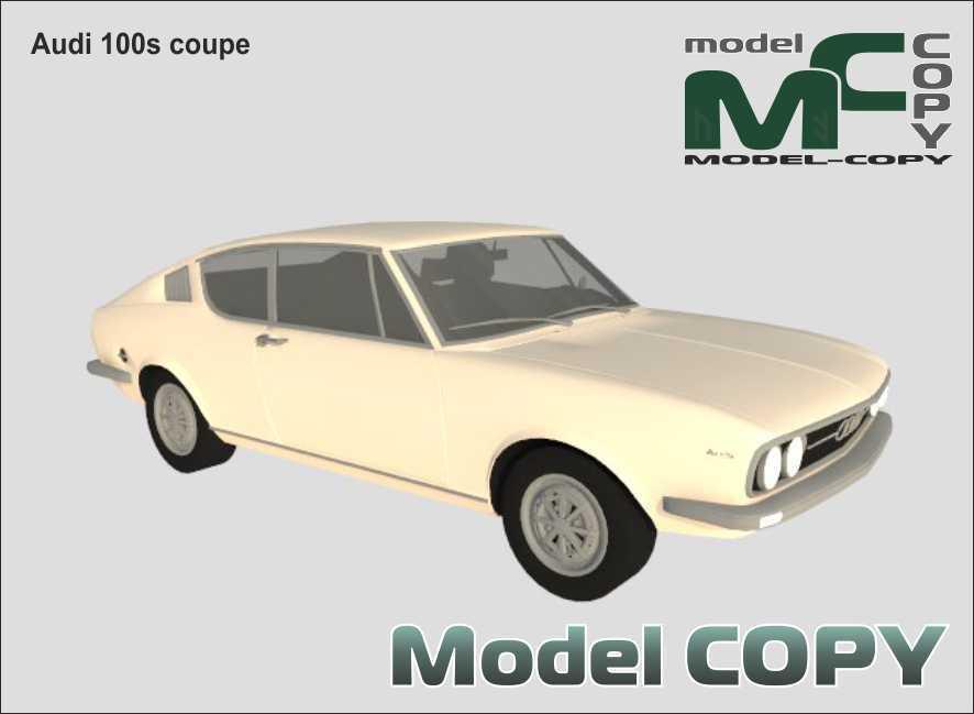 Audi 100s coupe - 3D Model
