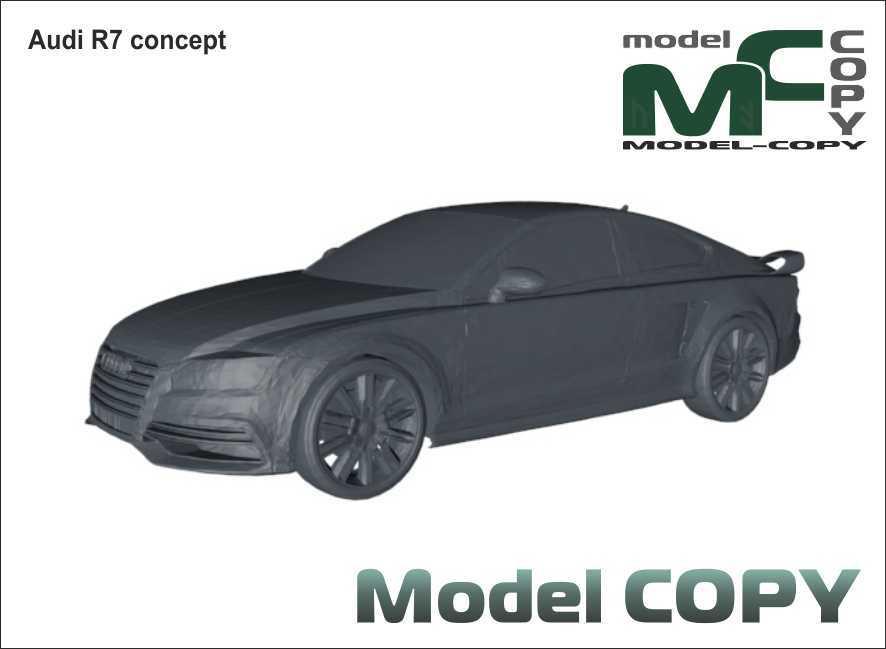 Audi R7 concept - 3D Model