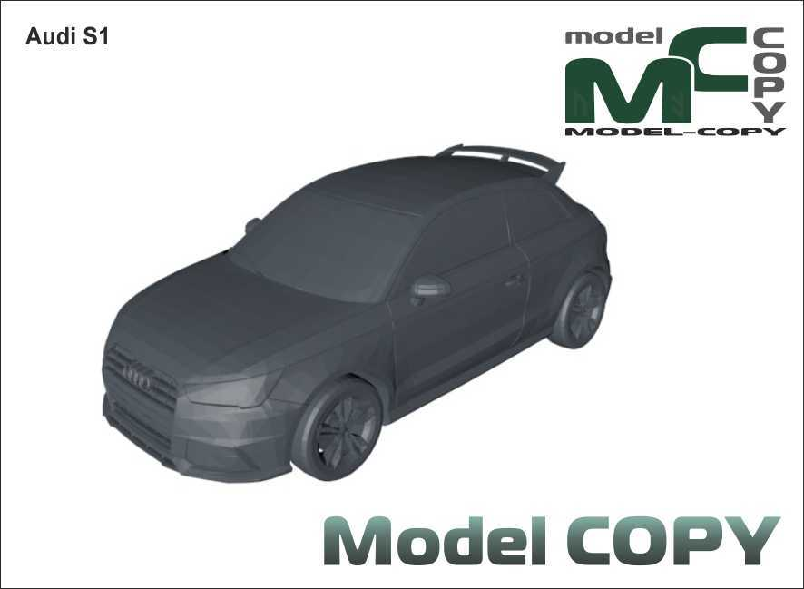 Audi S1 - 3D Model