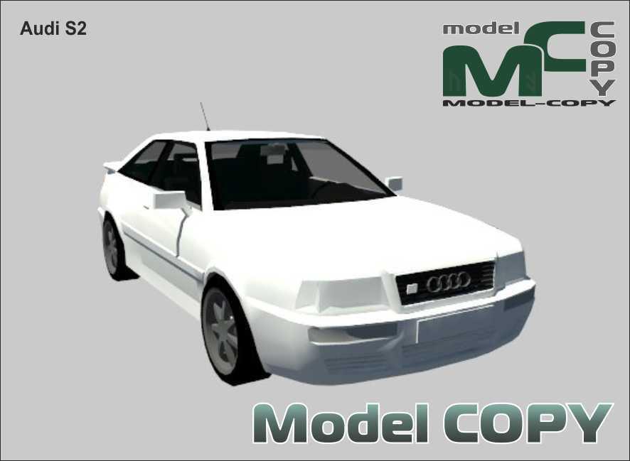 Audi S2 - 3D Model