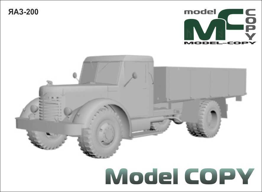 YAAZ-200 - 3D Model