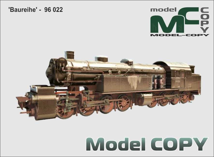 Baureihe - 96 022 - 3D Model