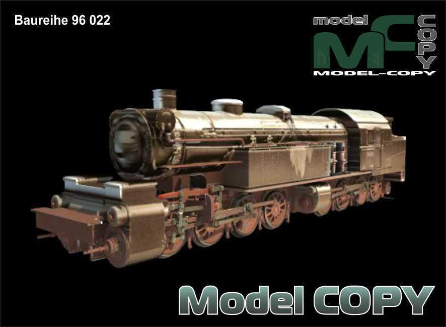 Baureihe 96 022 - 3D Model