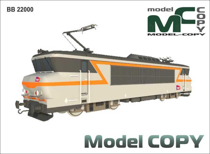 BB 22000 - 3D Model