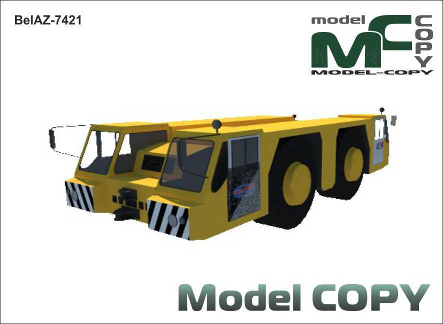 BelAZ-7421 - 3D Model