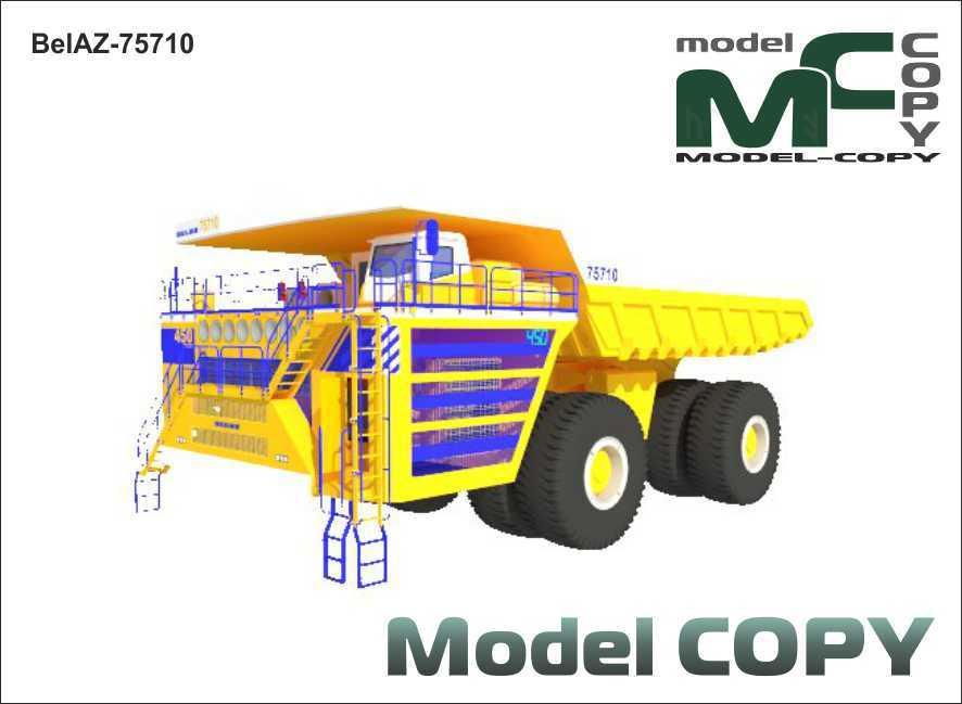 BelAZ-75710 - 3D Model
