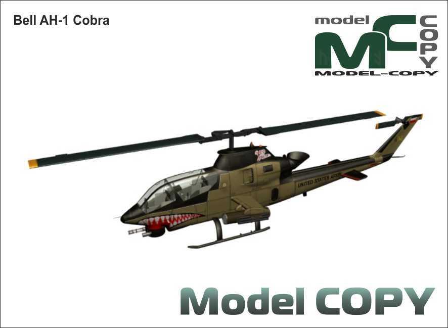 Bell AH-1 Cobra - 3D Model