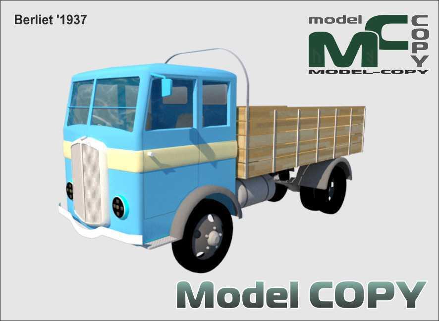 Berliet '1937 - 3D Model