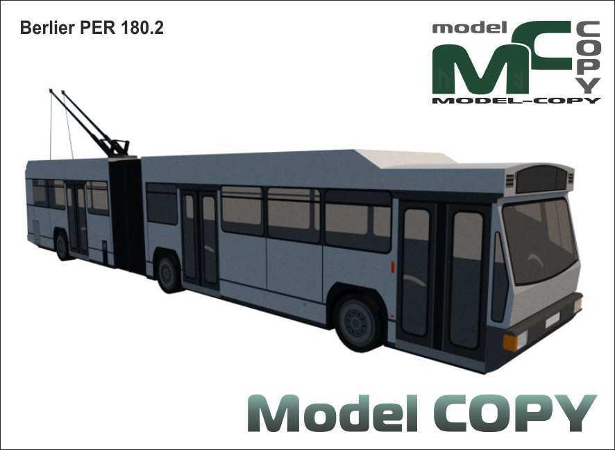 Berlier PER 180.2 - 3D Model