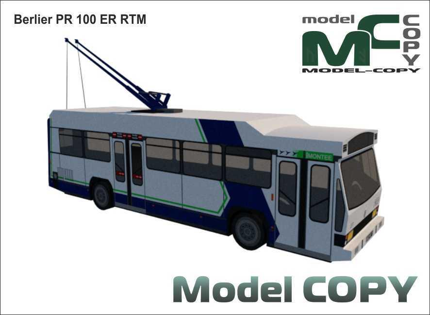 Berlier PR 100 ER RTM - 3D Model