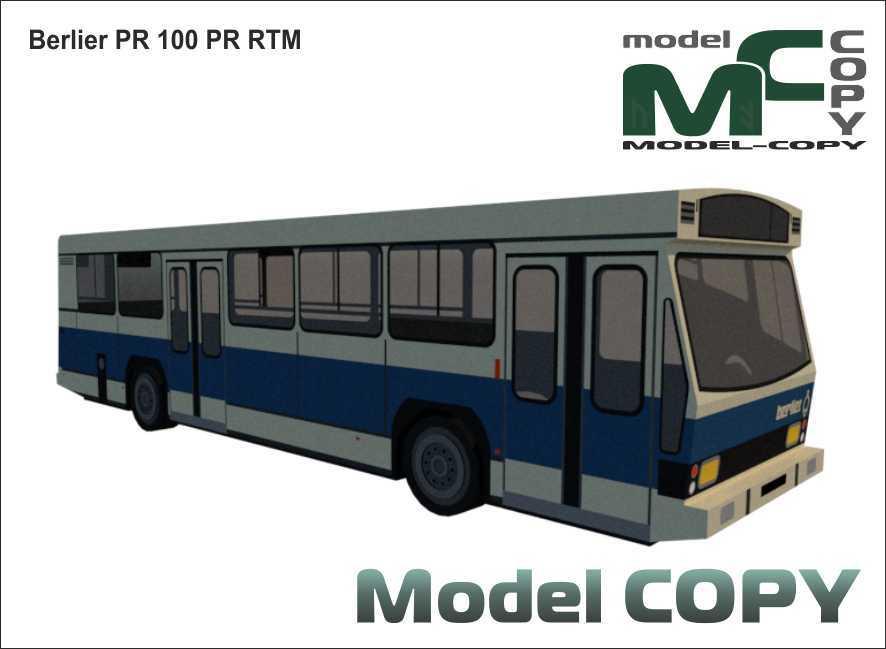 Berlier PR 100 PR RTM - 3D Model