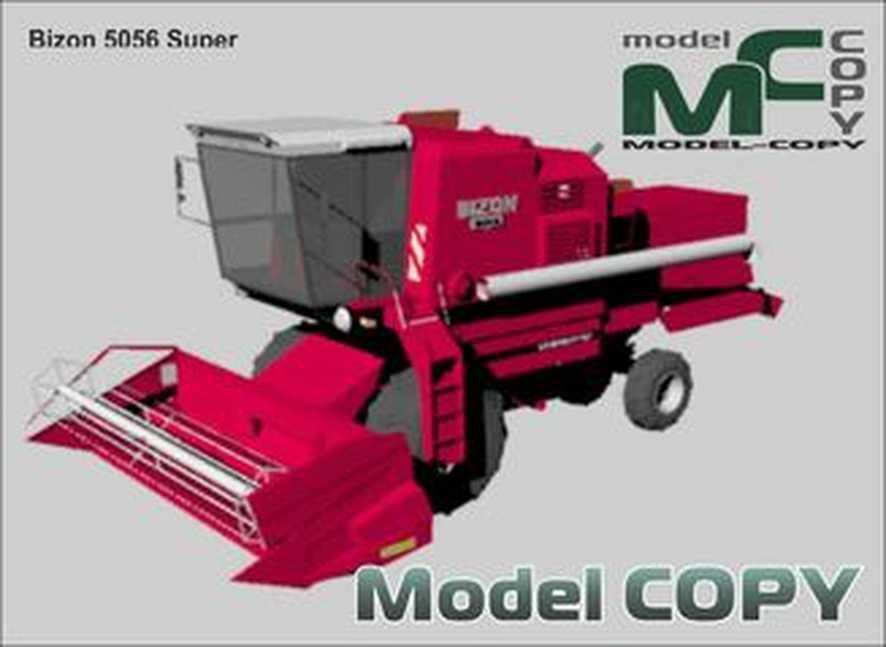 Bizon 5056 Super - 3Dモデル