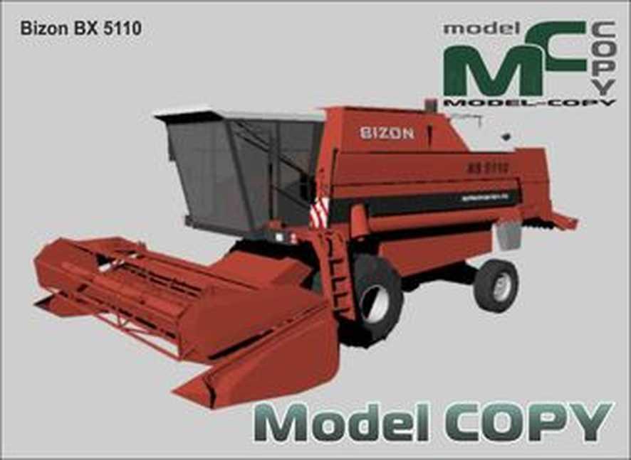 Bizon BX 5110 - 3Dモデル
