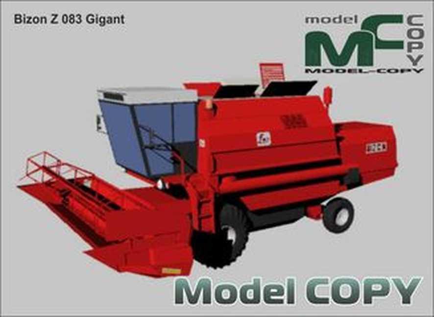 Bizon Z 083 Gigant - 3Dモデル