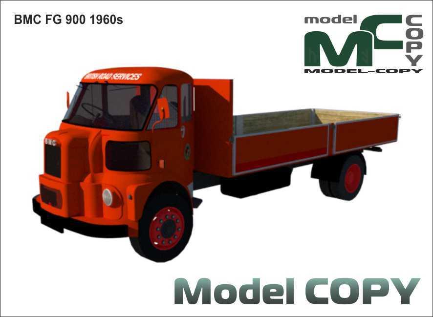BMC FG 900 '1960s - 3D Model