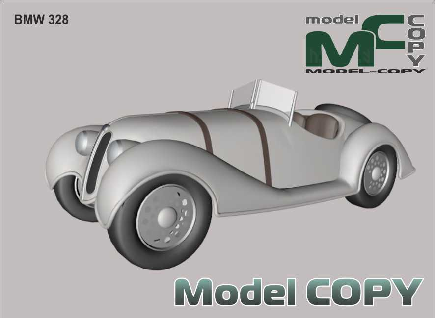 BMW 328 - 3D Model