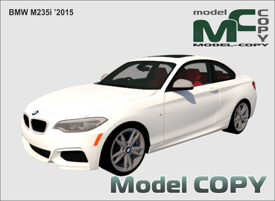 BMW M235i '2015 - 3D Model