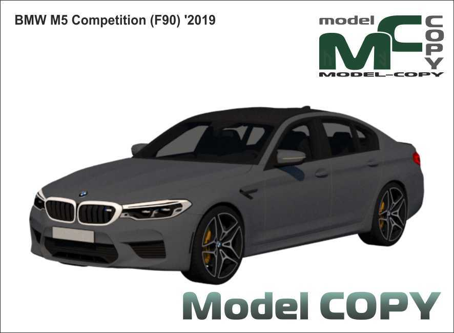 BMW M5 Competition (F90) '2019 - 3D Model