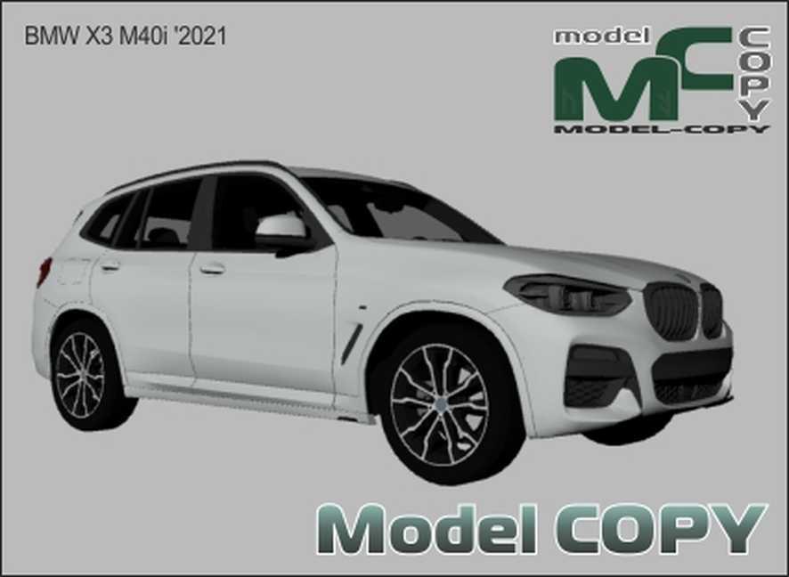 BMW X3 M40i '2021 - 3D Model