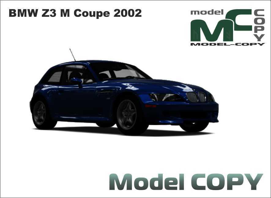BMW Z3 M Coupe 2002 - 3D Model