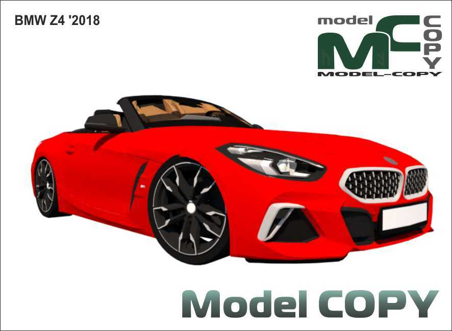 BMW Z4 '2018 - 3D Model