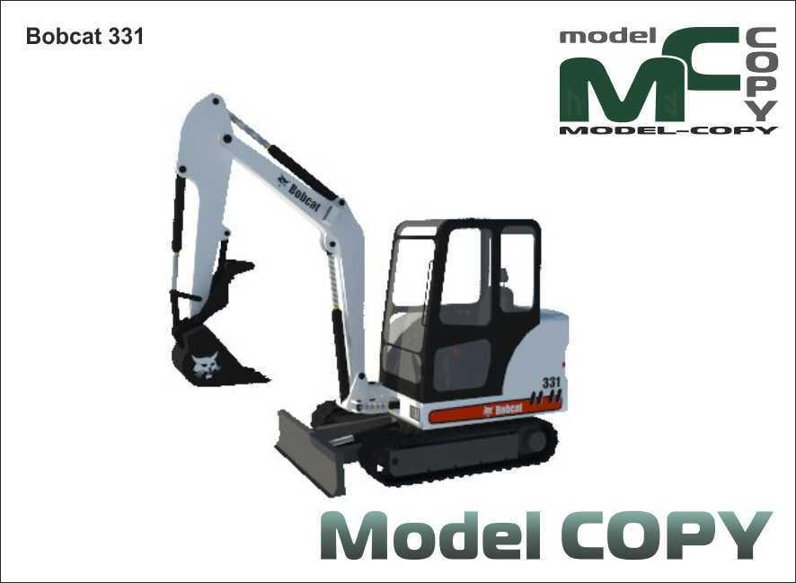 Bobcat 331 - 3D Model