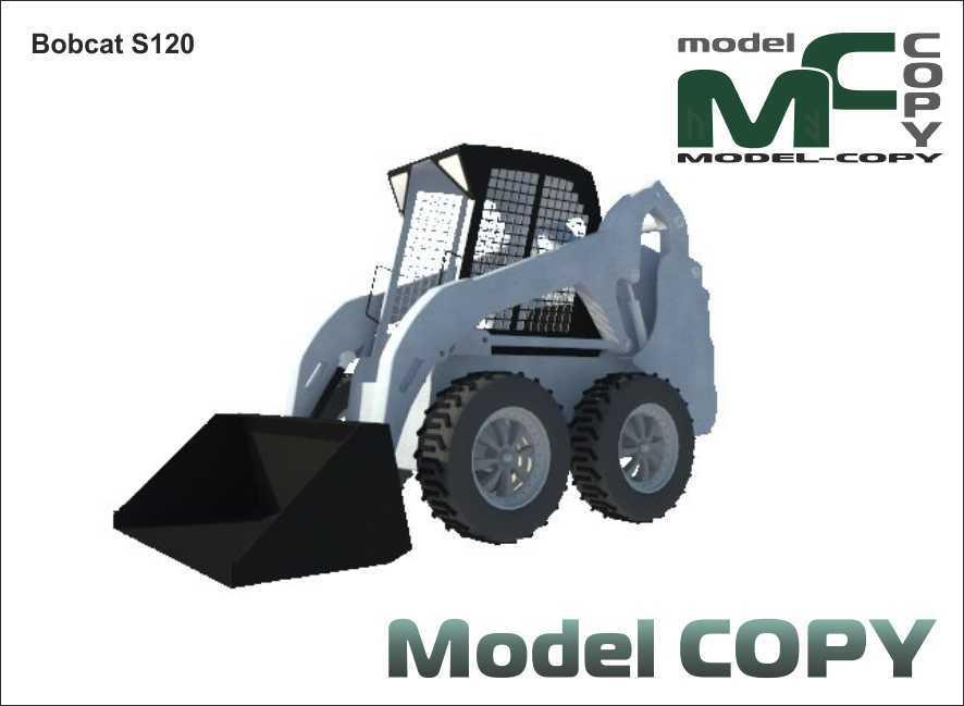 Bobcat S120 - 3D Model