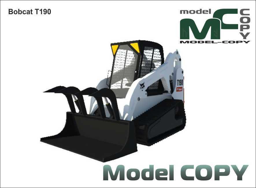 Bobcat T190 - 3D Model