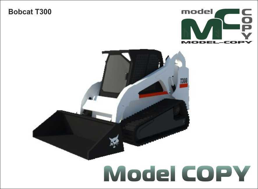 Bobcat T300 - 3D Model