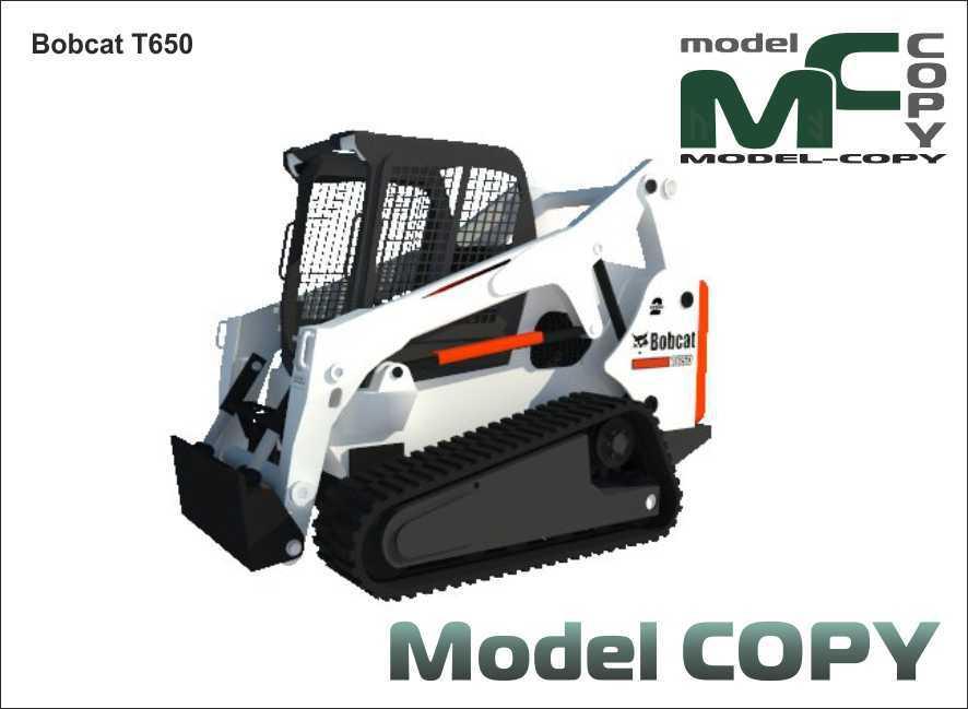 Bobcat T650 - 3D Model
