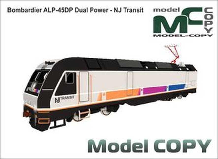 Bombardier ALP-45DP Dual Power - NJ Transit - 3D Model