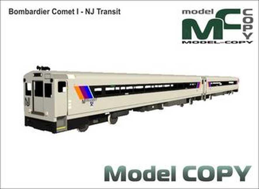Bombardier Comet I - NJ Transit - 3D Model