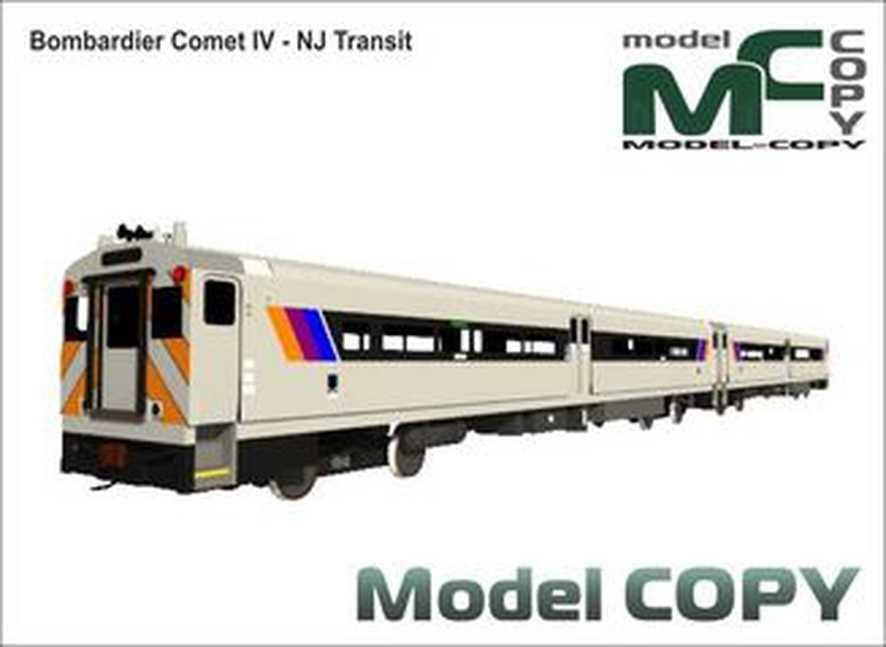 Bombardier Comet IV - NJ Transit - Model 3D