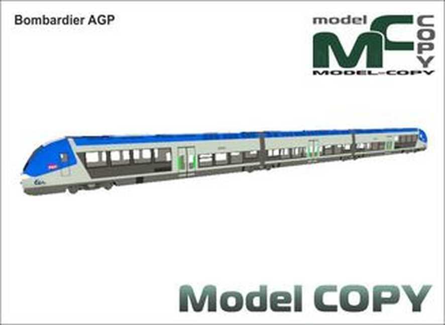 Bombardier AGP - 3D Model