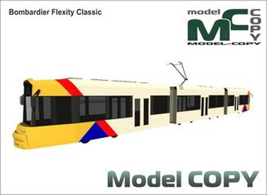 Bombardier Flexity Classic - 3D Model